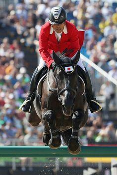 RIO DE JANEIRO, BRAZIL - AUGUST 14: Toshiki Masui of Japan riding Taloubetdarco…