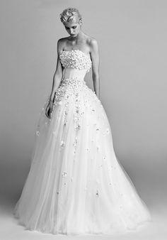 Viktor&Rolf Mariage Flower sprinkle ballgown Ball Gown Wedding Dress
