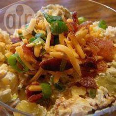 Photo de recette : Salade de pommes de terre et cheddar