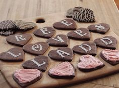 Chocolate Message Cookies recipe from Ree Drummond via Food Network