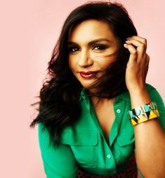"""I always get asked, 'Where do you get your confidence?' I think people are well meaning, but it's pretty insulting. Because what it means to me is, 'You, Mindy Kaling, have all the trappings of a very marginalized person. You're not skinny, you're not white, you're a woman. Why on earth would you feel like you're worth anything?'"" - Mindy Kailing"