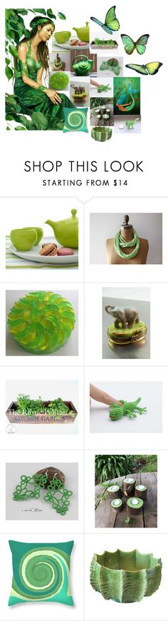 """""""5 July"""" by bizarrejewelry ❤ liked on Polyvore featuring Bodas, Moreau, Urban Nature Culture, rustic and vintage"""