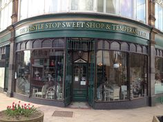 The wonderful Whistle Stop Sweet Shop located at the Imperial Buildings!