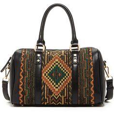 Sole Society Geneva fabric satchel