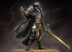 Beelphegor, The Soul Reaper WS-05 54 mm 1/32 | Warlord Saga | Andrea Miniatures | Andrea Europe