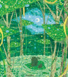 the art room plant Wood Tree, Walk In The Woods, Aesthetic Art, Night Skies, Watercolor Art, Book Art, Whimsical, Weird, Illustration Art