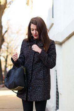 Classic Leopard Print Coat I Winter Favorites   Sequins & Stripes