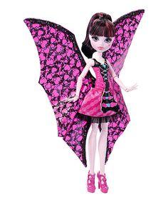 Monster High Ghoul to Bat Draculara Doll | zulily