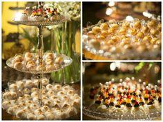 Detalhes dos doces - Casamento rústico-chique