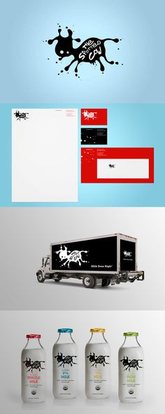 Branding for The Spotted Cow by Motto