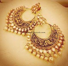Design Alert ! - Golden Chandbalis - South India Jewels