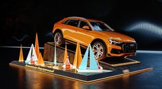 Audi Exposition on Behance Corporate Design, Event Design, Design Design, Audi Motor, Car Expo, Environmental Graphic Design, Environmental Graphics, Office Wall Design, Exhibition Display