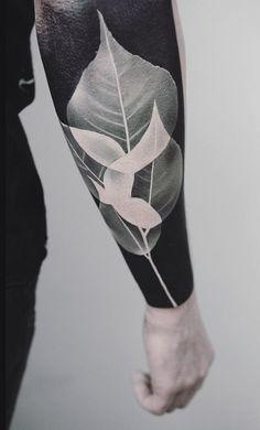 Leaves tattoo - 60 Cool Sleeve Tattoo Designs  <3 <3