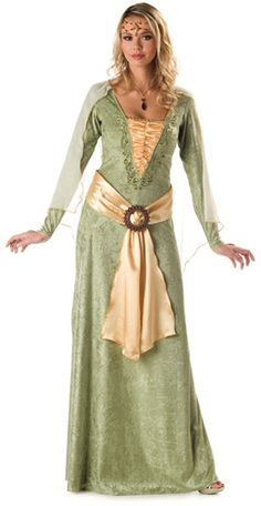 Deluxe Medieval Maiden Costume   Renaissance and Medieval Costumes