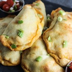 These Buffalo Chicken Empanadas are flavorful, low carb and ketogenic friendly. A perfect snack or keto recipe for game day!