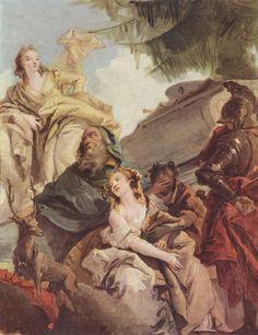El sacrificio de Ifigenia.