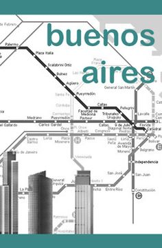 city posters by elif tanverdi : buenos aires