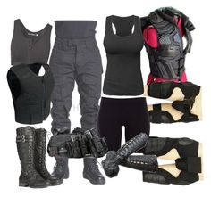 Untitled #573 by ironraven281 on Polyvore featuring polyvore fashion style Pieces Stay In Place Retrò clothing