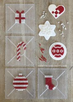 Christmas gift wrapping inspiration Christmas gift wrap inspiration … – The Tell Me Why Perler Bead Designs, Easy Perler Bead Patterns, Melty Bead Patterns, Hama Beads Design, Diy Perler Beads, Perler Bead Art, Christmas Gift Wrapping, Christmas Crafts, Wrapping Gifts
