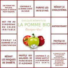 Les Bienfaits de la Pomme   LA POMME Le Monde s'Eveille Grâce à Nous Tous ♥