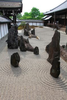 Tofukuji Temple, Japanese Dry Garden