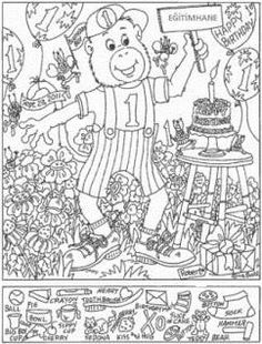This picture was used on other sites without permission. It is a copyright infringement to use it. Doodle Coloring, Adult Coloring, Hidden Pictures Printables, Highlights Hidden Pictures, Hidden Picture Puzzles, Visual Perception Activities, Mazes For Kids, Hidden Objects, Learning Tools