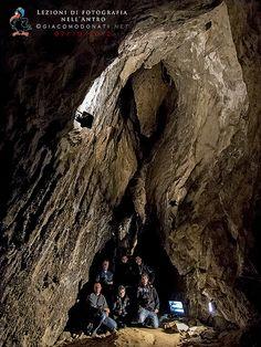 Workshop fotografico in grotta gruppo 7/10/2012