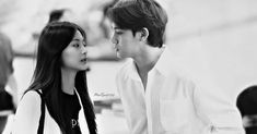 """Mingyu & Tzuyu on Instagram: """"""""I look at you and see the rest of my life in front of my eyes."""" — (Unknown)  _ © owner 