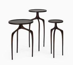 Bridger Cast Bronze Tables