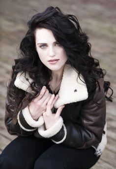 Katie McGrath as my new heroine sans the jacket. ;D (Andromeda Black)