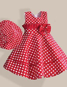 Kid styles 507499451756580426 - Summer Girl Dress with Hat Red Dot Fashion Bow Girls Dresses Casual A-line Kids Clothes robe fille enfant Source by johnkartonline Toddler Dress, Baby Dress, The Dress, Toddler Girls, Baby Girls, Dress Red, Kids Girls, Dress Black, Fashion Kids