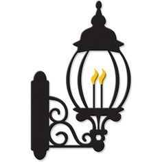 Silhouette Design Store - View Design #15738: new orleans gas lamp