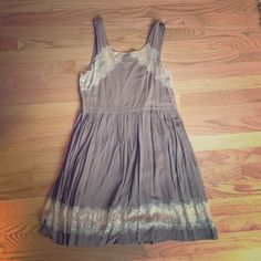 Brown Free People dress. Very light and flows fabric. Super comfortable. Free People Dresses Mini