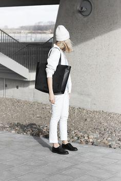 MyDubio | Outfit | minimal white | menswear inspired