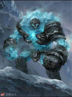 Parece el guardia de frozen mutante