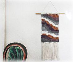 Art Weaving Art Tapestry Woven Wall by LonettaAvelarDesigns