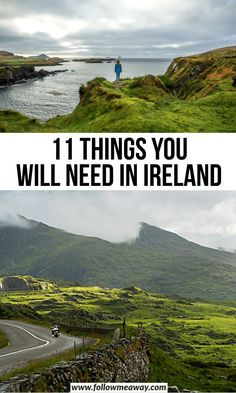 Looking to make sure your Ireland packing list is complete before your trip! DO NOT forget the most important things when packing for Ireland! European Travel Tips, European Vacation, Ireland Places To Visit, Places To Go, Scotland Travel, Ireland Travel, Uk Destinations, Train Tour, Ireland Vacation