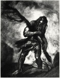 Caliban: Lo, now, lo!  Here comes a spirit of his, and to torment me  For bringing the wood in slowly.  (The tempest)    John Witcombe, from A tribute to the genius of William Shakespeare, foreword by W. L. courtney, London, 1916.