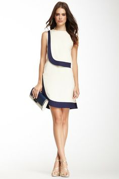 DVF Robi Two-Tone Dress on HauteLook