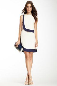 DVF Robi Two-Tone Dress on HauteLook