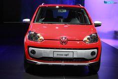 Este é o novo Cross up!, carro apresentado pela Volkswagen no Salão do Automóvel 2014. http://tacerto.d.pr/1cxhX
