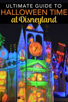 Visiting Disneyland during the Halloween season? The ultimate guide to Halloween Time in both Disneyland and Disney California Adventure, including updated information about Oogie Boogie Bash - the new version of Disneyland's Mickey's Halloween Party.