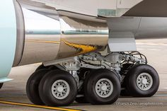Landing gear, Air Force One. More stunning than a diamond to me ~