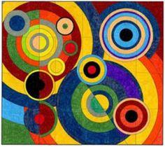 Delaunay Mural · Art Projects for Kids Projects For Kids, Art Projects, Project Ideas, Classe D'art, Circle Art, Art Classroom, Art Plastique, Art Activities, Teaching Art