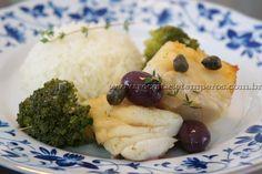 Bacalhau confitado no Azeite | Receitas e Temperos