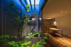 #鳳の家 #キッチンからの眺め #夕景 #houseinOtori #AAP2016 #銅賞受賞 #americanarchitectureprize2016