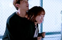 Why are they so cuteee Korean Couple, Best Couple, Drama Korea, Korean Drama, Strong Girls, Strong Women, Abrazo Gif, Lee Young Suk, Super Power Girl