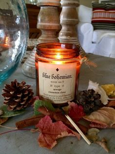 Holiday Candle Orange Cinnamon Clove - 7.5 oz. Soy Candle -Organic Candle / Scented Candle by monteblue on Etsy https://www.etsy.com/listing/252405291/holiday-candle-orange-cinnamon-clove-75