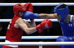 ボクシング男子バンタム級準決勝