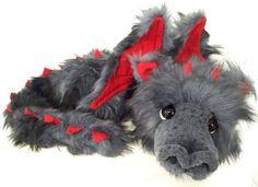 Charlie Bears, Build A Bear, Handmade Toys, Plushies, Lion Sculpture, Dragon, Teddy Bear, Fur, Statue